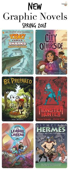 graphic novels spring 2018 #kids #childrensbooks