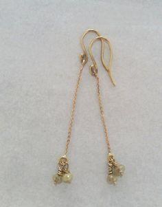 earrings 18ct rose gold, diamonds nicki bottcher