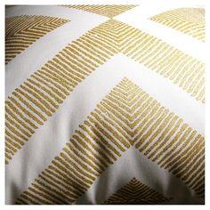 Outdoor Pillow - Metallic Gold Geo - Threshold™
