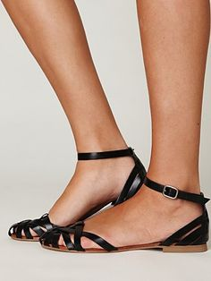 Lex Leather Sandal - possible summer sandal b/c I don't like showing all my toes hehe