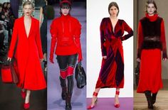 Llevar un color al rojo vivo High Level, Moda Outfits, Estilo Fashion, Lauren, Fashion Colours, Color Trends, Kids And Parenting, Red Color, Scarlet