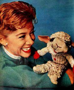 shari lewis and lamb chop 1961