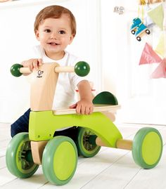 Hape Scoot Around Ride On: Toys & Games