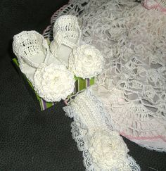 Bonete Patucos crochet pattern Abrigo de bebé gitana matiné Set Cochecito Set Chica..