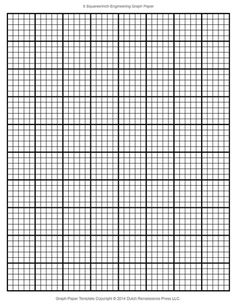 Blank engineering graph paper crochet and knitting pinterest a printable sheet of engineering graph paper toneelgroepblik Image collections