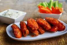 Slow Cooker Hot Wings - GREAT for PARTIES and GET TOGETHERS!  www.GetCrocked.com
