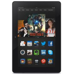 New Kindle Fire HDX 8.9 - Gift Idea for techie in the family!