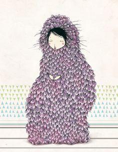 Inspiration for today: Musa by Belén Segarra. Fabulous work of art!