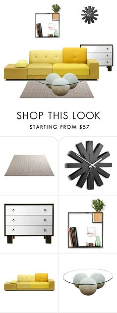 """""""Untitled #1439"""" by lindagama ❤ liked on Polyvore featuring interior, interiors, interior design, home, home decor, interior decorating, Umbra, Polder and CFC"""