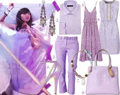 Color of the rainbow: violet