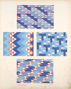 Geometric compositions.