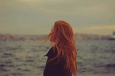 so when I was younger, I wanted to grow out my hair to BE THIS PIC..seriously. I envisioned long, flowing hair waving in the air while looking out at the waves...maybe I'll grow out my hair and move to Ireland?
