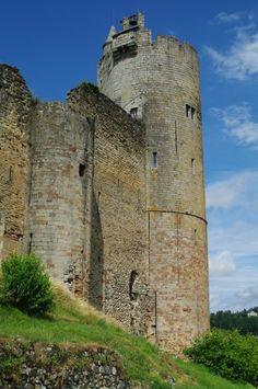 Carnac France, castle grasse. Dordogen, FRANCE.