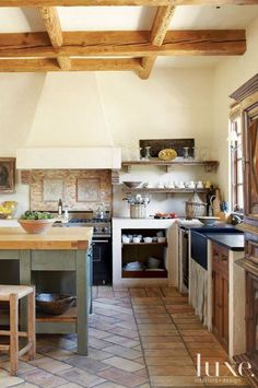 dustjacket attic: French Country Kitchens