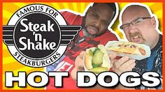 Steak n' Shake Hot Dogs in Webster, Texas w/ Guest Daym Drops Food Reviews, Hot Dogs, A Food, Steak, Snack Recipes, Meals, Ethnic Recipes, Beverage
