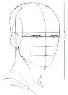 how to sketch a 3/4 face - Google Search