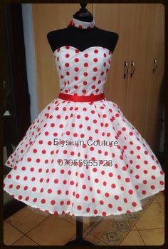 50s rockabilly dress