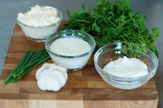 """The best ranch recipe - we like it the basic way and """"fancy"""" (with dill, worcestershire sauce, vinegar, and paprika)  -- For the dry herb version use   1 1/2 T parsley flakes, 2 tsp dried chives, 1/4 tsp garlic powder, 1 tsp dill."""