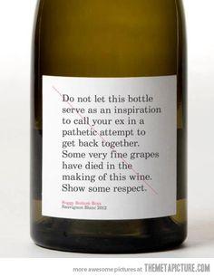 Show some respect…