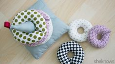 These DIY stackable fabric rings are destined to become your baby's new favourite toy