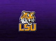 LSU Tigers College Sport Football Logo Mascot Case Cover iPhone 4 5 6 Plus College Football Top 25, College Sport, Tiger Wallpaper Iphone, Lsu Tigers Football, Sport Football, Football Season, Tiger Illustration, Louisiana State University, Purple Gold
