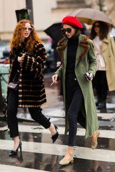 Trend alert: береты-2018 (как носить классику этой зимой и весной) – Woman & Delice