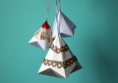 DIY: paper ornaments