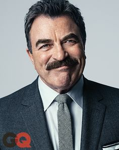 """Hi, Guys!"" Call your pops and your father in law! Magnum--er-- Tom Selleck guides us through the ins and outs of Style in your 60's.  Courtesy of GQ.com"