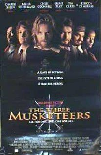 """On the play list: The Three Musketeers. I'm not sure if this is the version we will be watching. I also don't think this really qualifies as a royalty movie, but we needed something """"French"""" and couldn't agree on anything else. Whaddyagonnado?"""