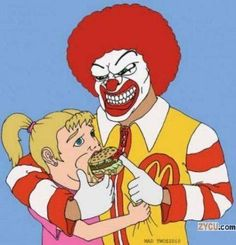 McDonalds Loves Children! They call it Cradle To Grave branding, and they are very, very good at their jobs. http://smallbusiness.chron.com/cradle-grave-mean-advertising-23834.html