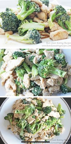 Yum Today's clean eating recipe was easy and fun to make. I liked the crunchiness of the broccoli mixed with the soft chicken meat. Chicken Broccoli Stir Fry, Vegetable Stir Fry, How To Make Broccoli, Healthy Stir Fry, Good Food, Yummy Food, Clean Eating Recipes, Meal Planning, Keto Recipes
