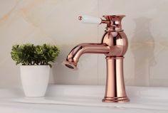 Contemporaneo de laton grifo del fregadero cuarto de baño - Rose Gold GR14028B http://www.grifoso.com/contemporaneo-de-laton-grifo-del-fregadero-cuarto-de-ba%C3%B1o-rose-gold-gr14028b-p-358.html