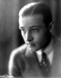 Rudolph Valentino portrait. Posted by The Rudolph Valentino Society (http://rudolphvalentino.org and therudolphvalentinofilmfestival.com)