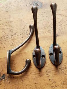 Robe Hooks Efficient Vintage Hanger Hook Antique Zinc Alloy Door Hooks For Clothes Coat Hat Bag Towel Hanger Bedroom Bathroom Wall Hook Rack Neither Too Hard Nor Too Soft