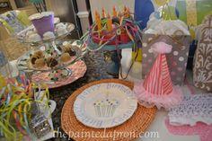 birthday party 5 thepaintedapron.com- birthday plate