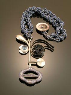 Jewelry-Found Objects-Alice Sprintzen Studio: Masked Instrument