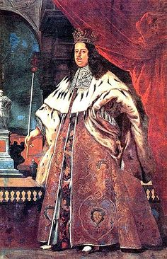 Cosimo III, the Medicean grand duke, in Grand Ducal regalia