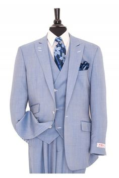 Like this Tiglio men's suit? Find this Tiglio suit and more at www.FashionMenswear.com and www.GiovanniMarquez.com