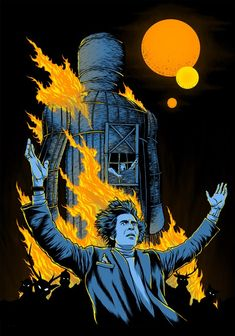 """Another shirt design I did a while back for Fright Rags. I was totally excited to do """"The Wicker Man"""", and to have an excuse to draw Christopher Lee. T Shirt Art, Best Horror Movies, Horror Films, Throwback Thursday, Tee Design, Christopher Lee, Horror Shirts, Movie Poster Art, Film Posters"""