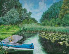 canvas By: Baji Erzsébet Hungary Hungary, Golf Courses, Canvas, Nature, Tela, Naturaleza, Canvases, Nature Illustration, Outdoors