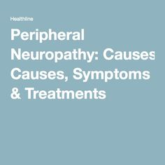 treatment for peripheral neuropathy burning feet