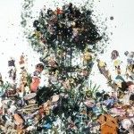 Psychogeographies: 3D Collages Encased in Layers of Glass by Dustin Yellin