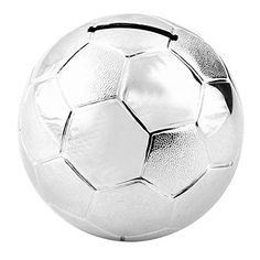 Silver Plated Football Money Box -- Want additional info? Click on the image.