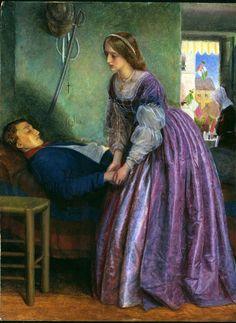 Arthur Hughes - Questo era un Piemontese (1862)