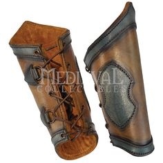 Elven Leather Bracers - LP0180 by Medieval Collectibles