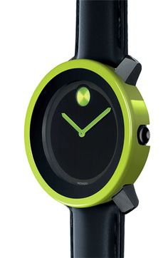 Movado 'Large Bold' Watch & Green Case Cover | Nordstrom