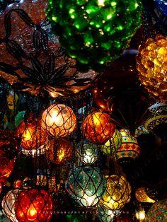 Mosaic Lanterns    Loving Memory by couleur.deviantart.com