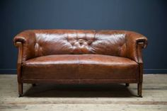 Northern European Leather Sofa, c1930.  Image credit:  DC