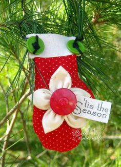 'Tis the Season Ornament by Lisa S - Cards and Paper Crafts at Splitcoaststampers PBD Old Time Christmas