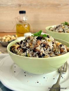 Food To Make, Cereal, Oatmeal, Stuffed Mushrooms, Food And Drink, Rice, Vegan, Vegetables, Breakfast